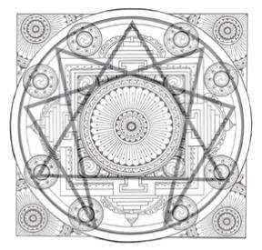 mandala of the enneagram